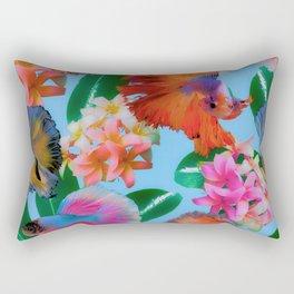 Hawaiian Print III Rectangular Pillow