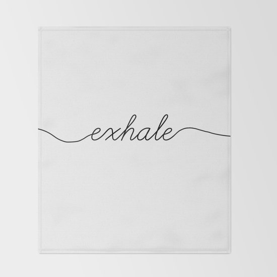 inhale exhale (2 of 2) by blackandwhitetype