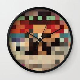 Pixel Paak Wall Clock