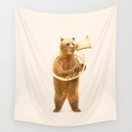 The Bear and his Helicon Wall Tapestry
