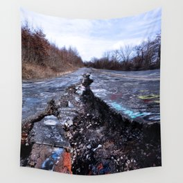 Trial Through Silent Hill Wall Tapestry