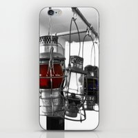 lanterns iPhone & iPod Skins featuring Lanterns by Raymond Earley