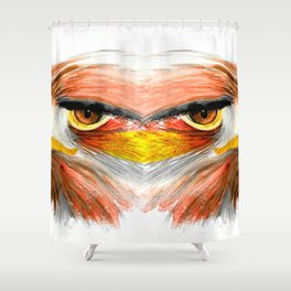 Power and Pride Shower Curtain