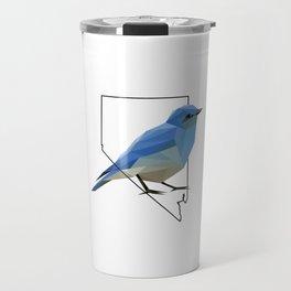 Nevada – Mountain Bluebird Travel Mug
