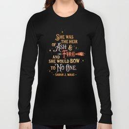Ash & Fire Long Sleeve T-shirt
