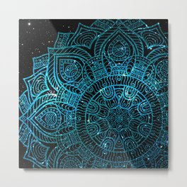 Space mandala 24 Metal Print