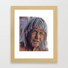 Portrait of George Greenough Framed Art Print