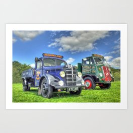 Bedford Dropside Tipper Art Print