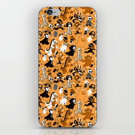 Alt Monster March (Orange) iPhone Skin