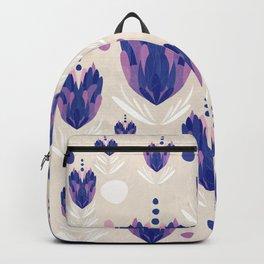 Lavender Pattern Backpack