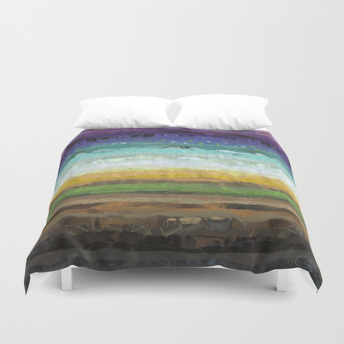Sunday Brunch Duvet Cover
