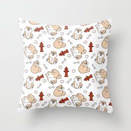 Gordon the Chow Chow Throw Pillow