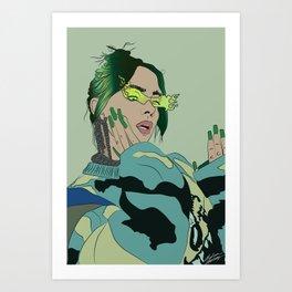 Billie Fan Art Art Print