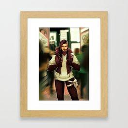 Fashionista Han Framed Art Print