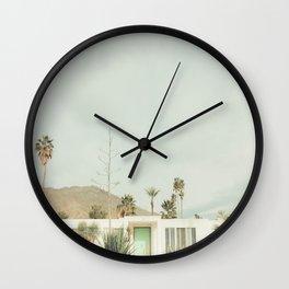 Vintage Palm Springs Wall Clock