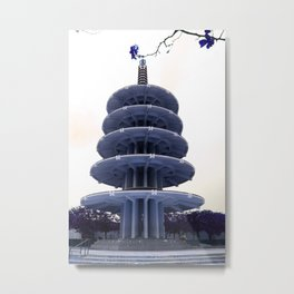 Japan Tower Metal Print