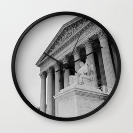United States Supreme Court Building Wall Clock