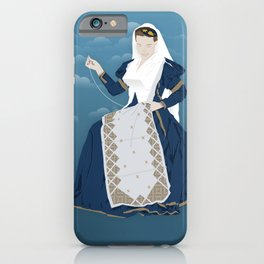 Lefkada, Traditional Costume & Embroidery (GR) iPhone Case