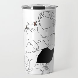 Cat Lady Travel Mug