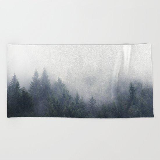 I Don't Give A Fog Beach Towel