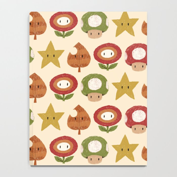 mario items pattern Notebook
