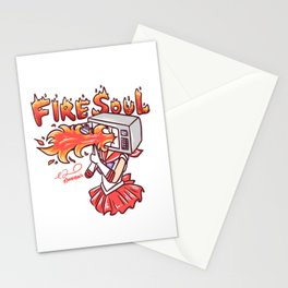 Microwave Soul Stationery Cards