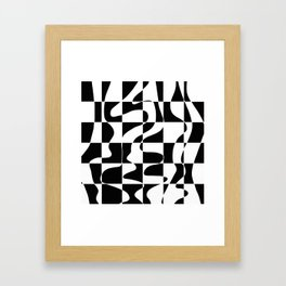 It's Not Always So Black And White Framed Art Print