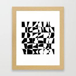 It's Not Always So Black And White Framed Art Print