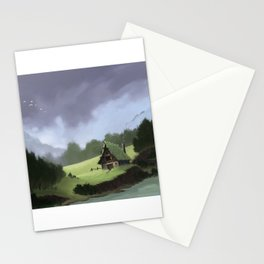 Lone Shack Stationery Cards