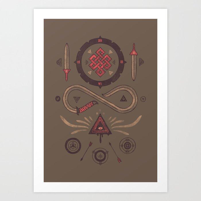 Endless Art Print
