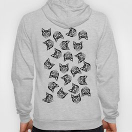 Black Mollycats Hoody