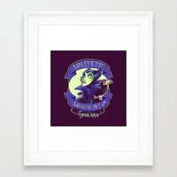 maleficent Framed Art Prints featuring Maleficent by KanaHyde