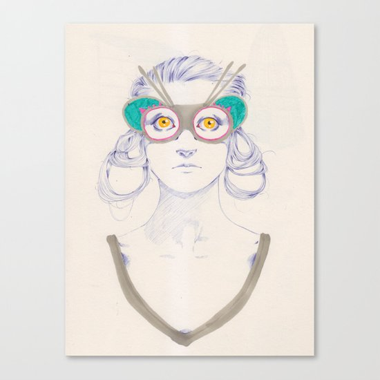 Untitled drawing Canvas Print