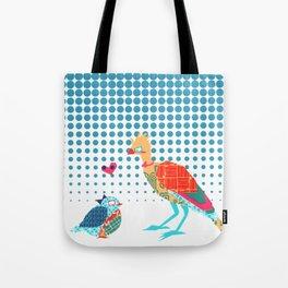 Nerd Birds Tote Bag