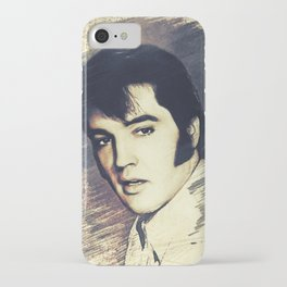 Elvis Presley, Music Legend iPhone Case