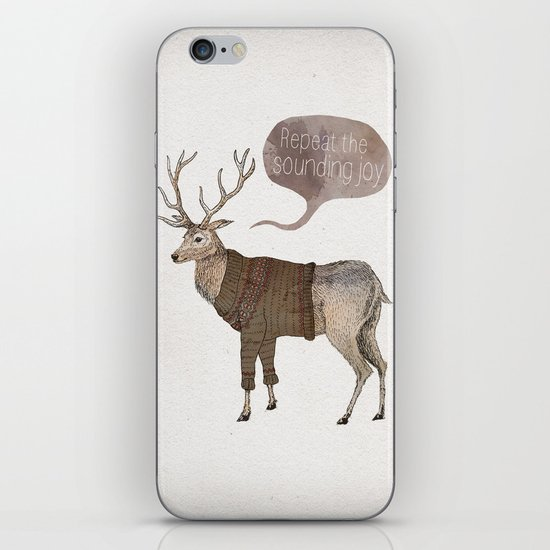 Repeat the Sounding Joy iPhone & iPod Skin