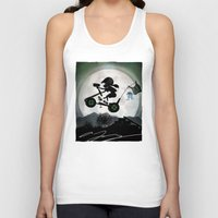 halo Tank Tops featuring Halo Kid by Andy Fairhurst Art