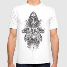 Voodoo people LARGE Mens Fitted Tee White