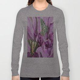 Butterflies and Roses Long Sleeve T-shirt