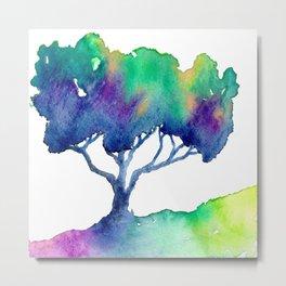 Hue Tree III Metal Print