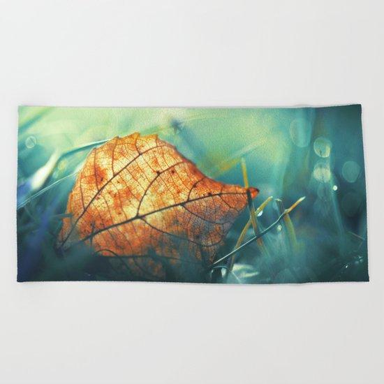 Autumn Gift Beach Towel