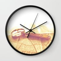 explore Wall Clocks featuring EXPLORE by Mankind Design