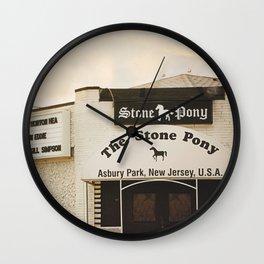 The Stone Pony Wall Clock