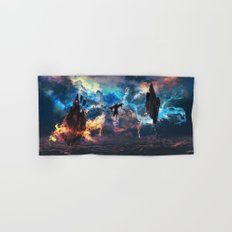 Avatar: The Last Airbender - Aang @ Avatar State - Fan Art Hand & Bath Towel