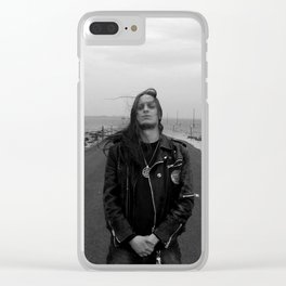 Fenriz Holy Island 2 Clear iPhone Case