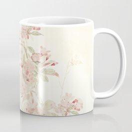 Watercolour of pink blossom Coffee Mug