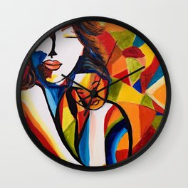 Loving Mom Wall Clock