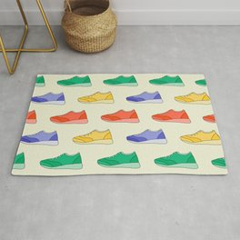 Lots of Shoes pattern design Rug