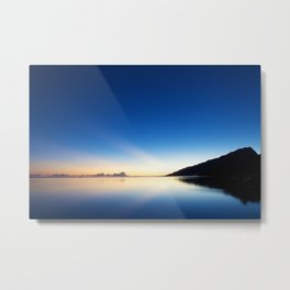 HELLA GOOD SUNRISE Metal Print