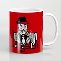 gangster Mugs featuring Gangster by Logan_J